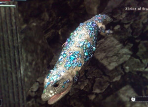 crystal lizard