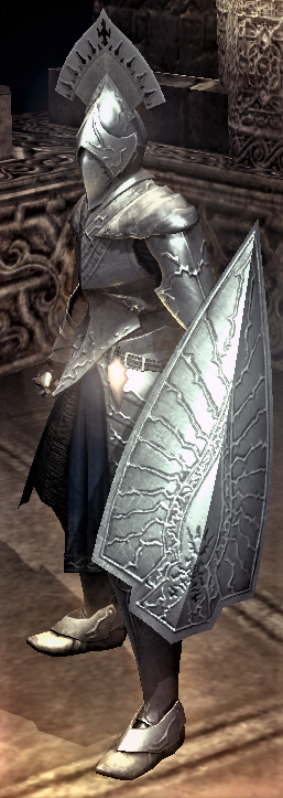 Dark Silver Shield