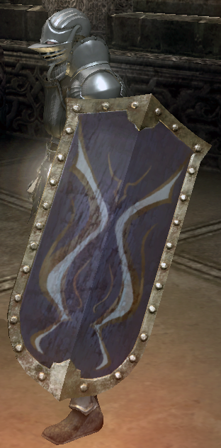 Purple Flame Shield