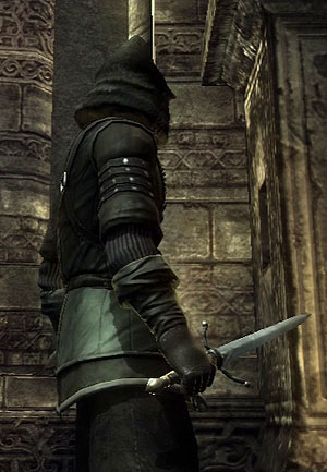 parrying dagger at the ready