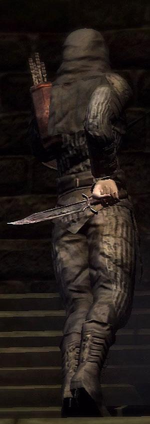 secret dagger at the ready