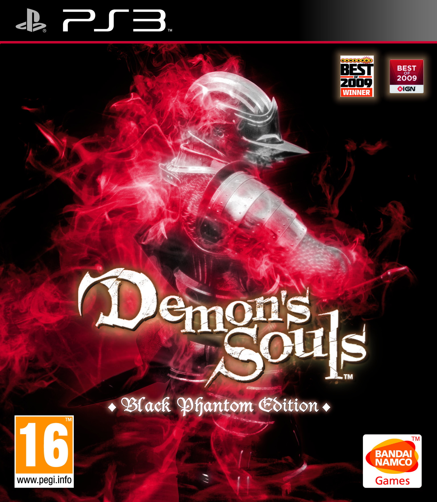 european version - black phantom edition box art